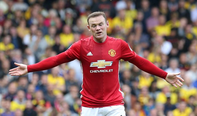 Rooney on bench for Leicester game