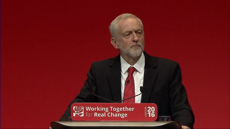 Jeremy Corbyn insists that anti-Semitism is unacceptable during his conference speech