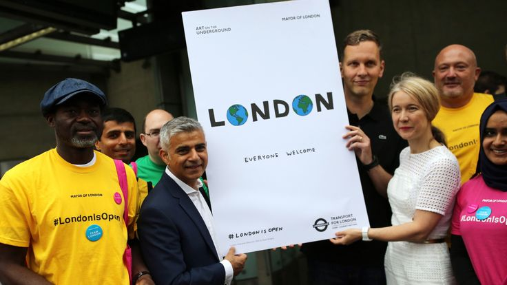 Sadiq Khan is pushing for a special Brexit work permit deal for London