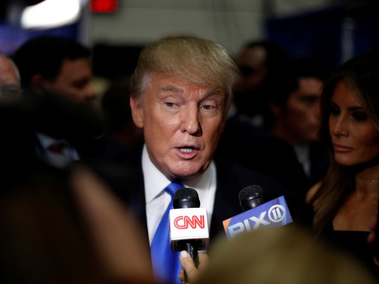 Donald Trump's net worth 'plummets by $800m'