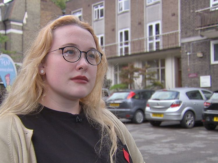 Student Shannon Howard
