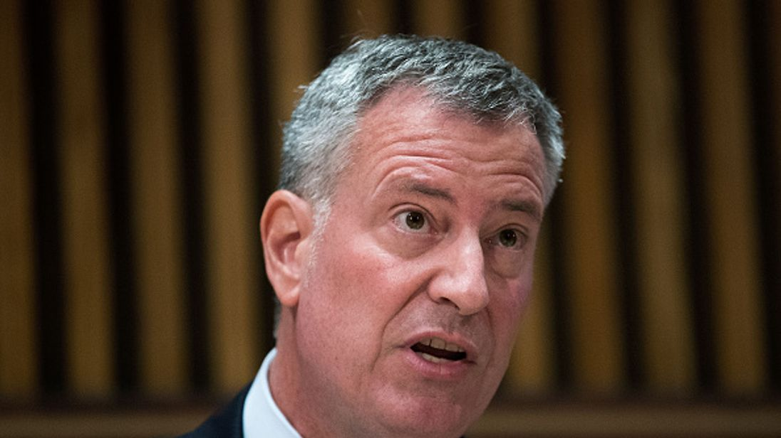 "New York's mayor said the shooting is ""tragic"""