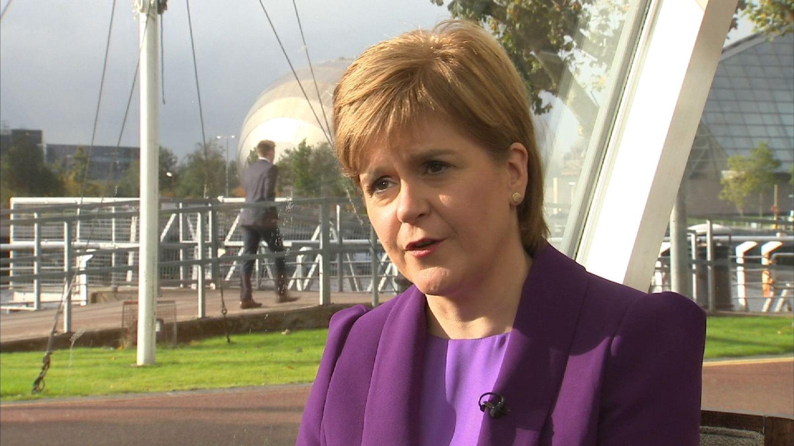 Nicola Sturgeon: 'We're in uncharted territory'