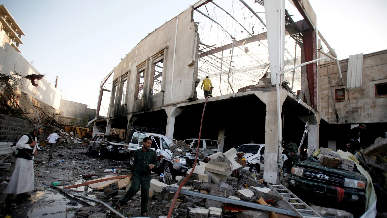 'Wrong information' led to deadly airstrikes on a funeral in Yemen