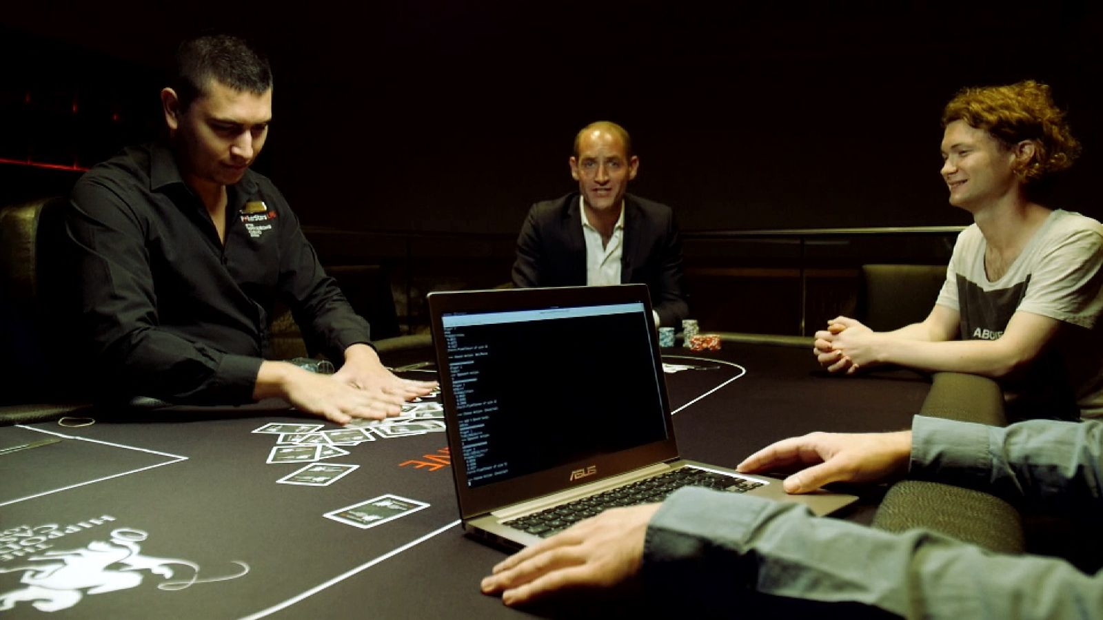 Sky's Tom Cheshire takes on a computer at poker