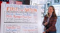 The village of Dixville Notch, New Hampshire, traditionally declares its result shortly after midnight on election day