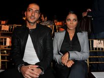 Wissam Al Mana and Jackson at Paris Fashion Week in 2010