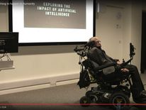 Stephen Hawking discusses the potential benefits and dangers of artificial intelligence at the launch of The Leverhulme Centre for the Future of Intelligence (CFI)