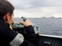 HMS Richmond monitors Russian ships