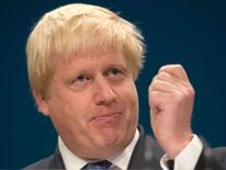 Boris couldn't resist a quip about the ivory ban and Donald Tusk