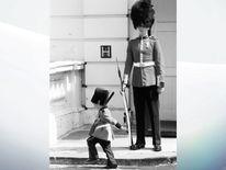 Mark Acklom as a little boy