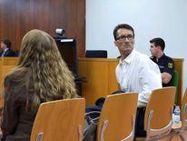 Mark Acklom in court in Spain