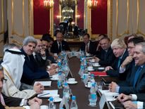 Ten countries met in London to discuss the situation in Syria