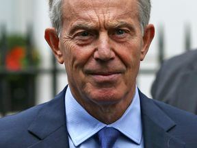 Tony Blair has not refused to rule out a return to frontline politics