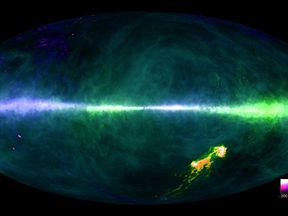 Scientists have created a detailed map of the Milky Way using two of the world's largest fully steerable radio telescopes in Germany and Australia.