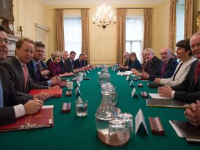 Awkward? Leaders of devolved nations at a Joint Ministerial Council meeting