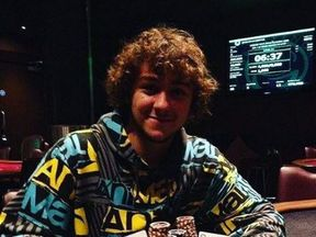Damon Smith travelled to play in poker tournamnents