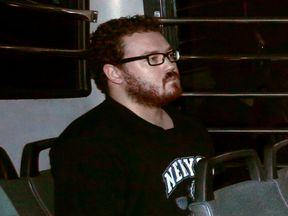 File photo of Rurik Jutting, a UK banker charged with two counts of murder