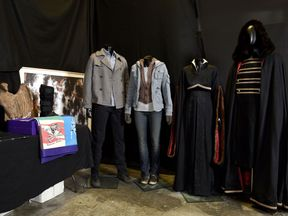 Costumes worn by Stewart and Pattinson are expected to be sold for thousands of dollars