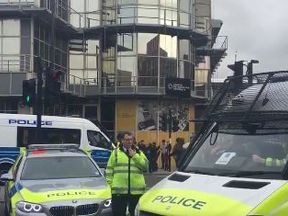 A teenager was arrested on Holloway Road in North London