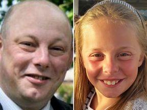 Andrew Broadhead and his daughter Kiera