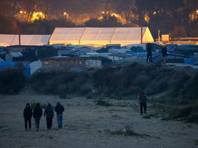 At least 6,500 refugees and migrants are estimated to be living in the 'jungle'