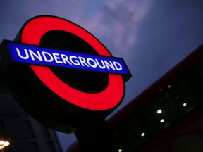 File photo dated 10/09/16 of a London Underground sign against the night sky, as Night Tube services on the Jubilee line will begin this weekend. PRESS ASSOCIATION Photo. Picture date: Friday October 7, 2016. See PA story TRANSPORT NightTube. Photo credit should read: Yui Mok/PA Wire