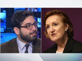 Raheem Kassam and Suzanne Evans