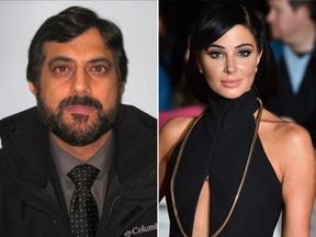 Mazher Mahmood and Tulisa Contostavlos