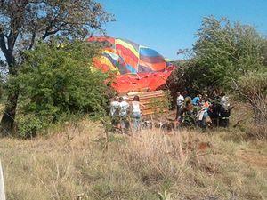 British mother dies in 'freak' hot air balloon crash in South Africa