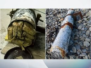 'Torpedo' carrying £4m of cocaine found on beach in Ireland