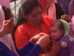 Babies reunited with their mothers in India after hospital blunder