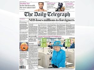 Friday's national newspaper front pages