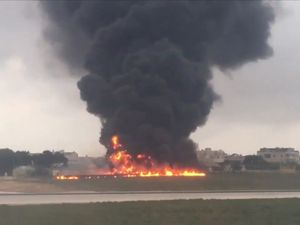 Five French officials killed as surveillance plane crashes at Malta airport