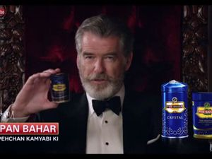 Pierce Brosnan 'cancer' row advert: Pan Bahar firm hits back