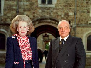 Princess Diana's stepmother Raine Spencer dies, aged 87