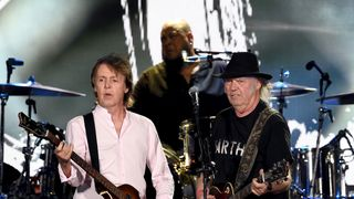 Sir Paul McCartney and Neil Young