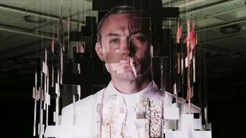 Sky celebrates launch of The Young Pope with a 3D hanging sculpture