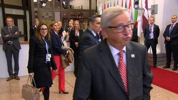 Jean-Claude Juncker not impressed