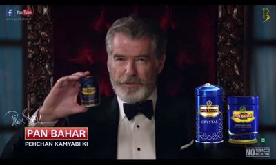 Pierce Brosnan 'cancer' row advert: Pan Bahar firm hits back