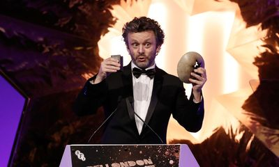 Michael Sheen denies he's quitting acting for politic