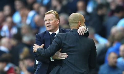City are the best team I've faced, says Koeman