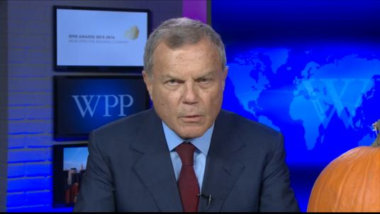 WPP boss Sir Martin Sorrell says it's a pity Mark Carney is not staying on for longer at the Bank of England