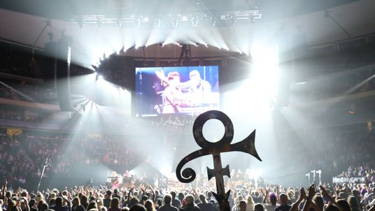 General view during the 'Official Prince Tribute-A Celebration of Life and Music,' concert
