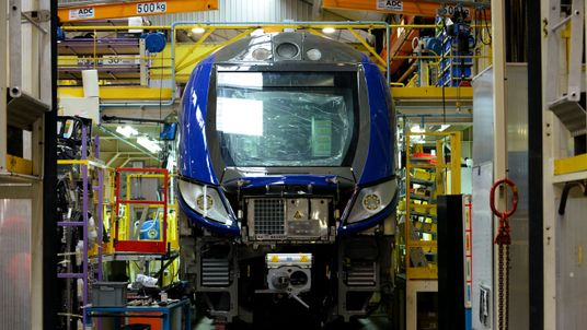 Bombardier employs thousands of workers in the UK