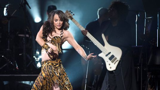 Mayte Garcia, Prince's ex-wife, performs