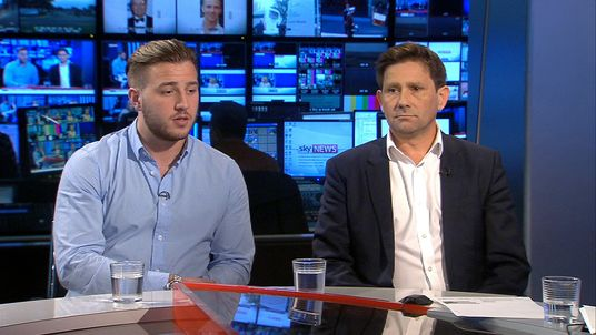 Family of missing serviceman Corrie McKeague are interviewed on Sky News