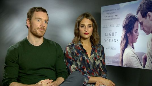 Fassbender and Vikander play a couple living in a lighthouse on the remote coast of Western Australia