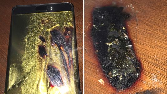 Samsung Galaxy Note 7 had battery problems that caused them to self-combust
