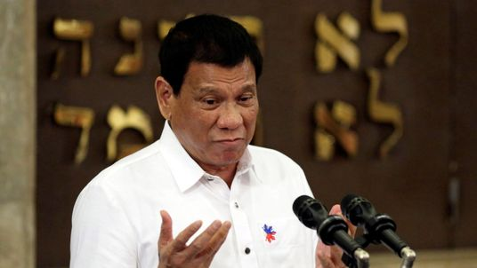 The Philippine leader said he has lost all respect for America